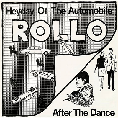 vinyl 45 cover for heyday of the automobile/ after the dance